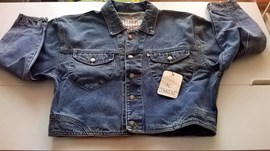 Giacca Jeans donna vintage anni '80 NUOVA